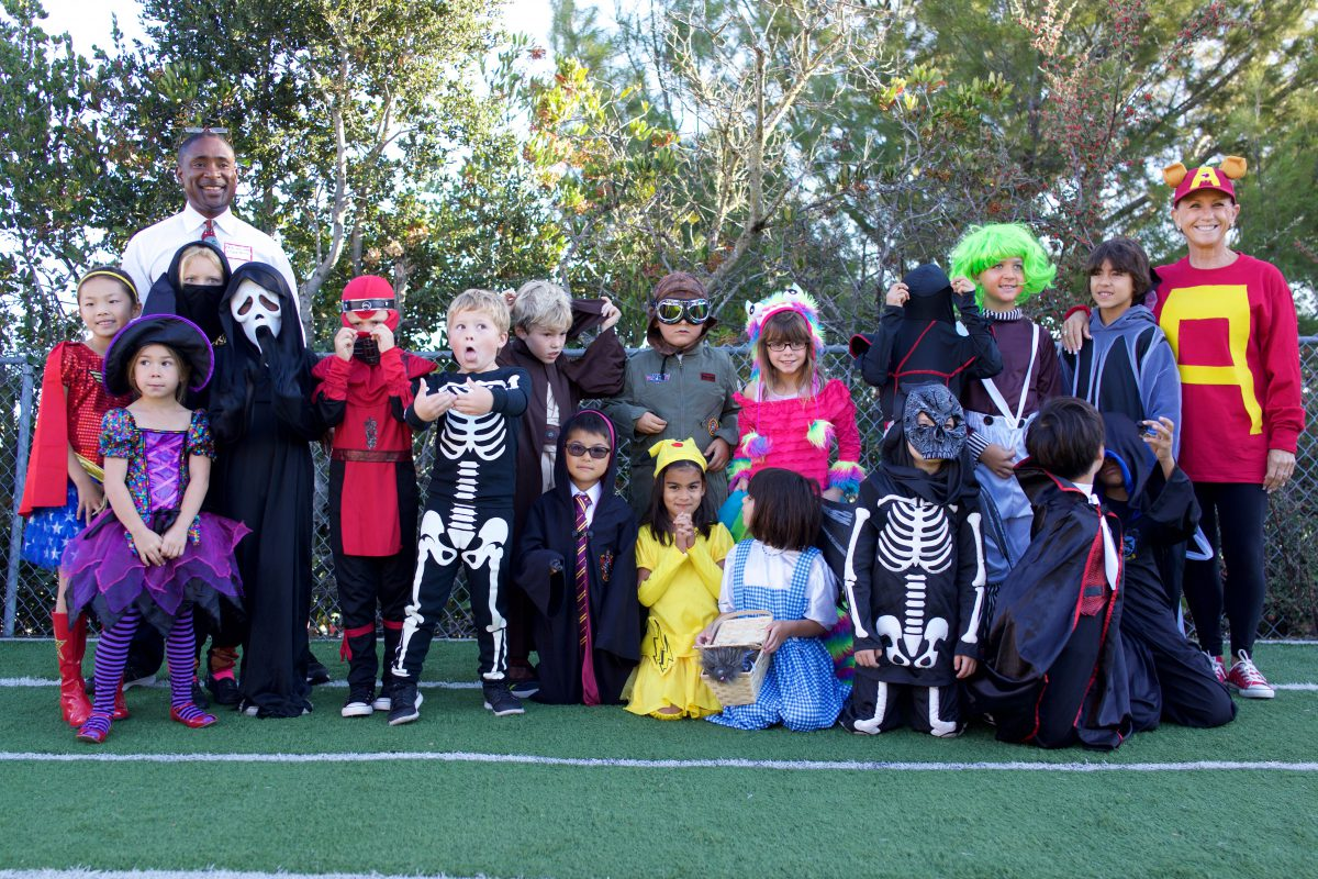 Halloween Parade at The Carey School