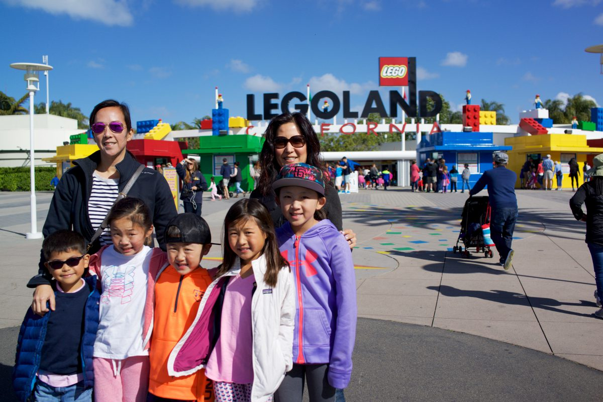 Legoland and San Diego Zoo Safari Park with Lees