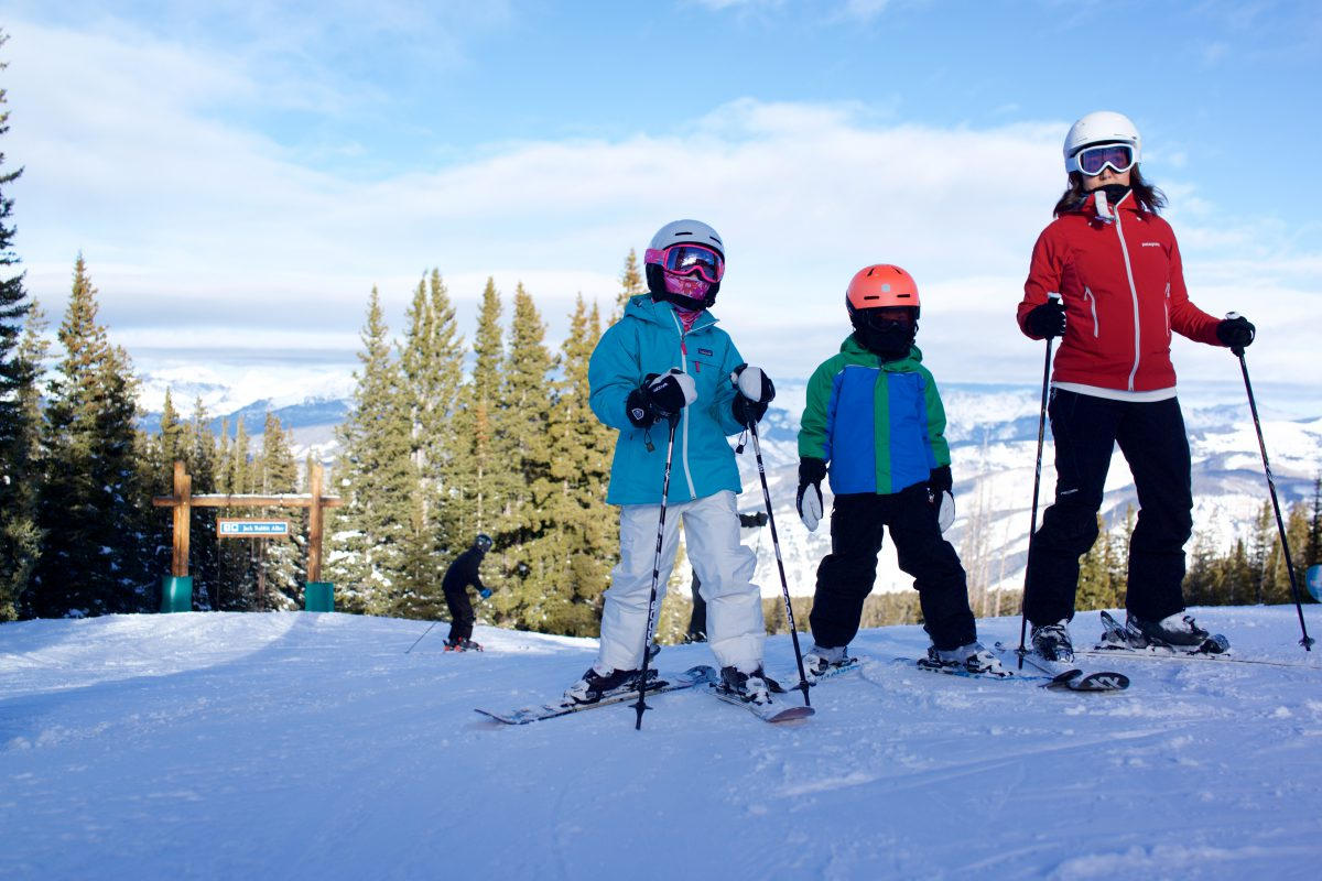 Skiing in Beaver Creek Before Christmas